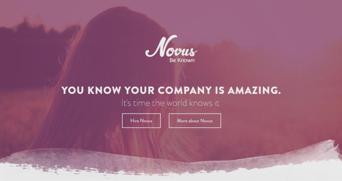 Novus screen grab