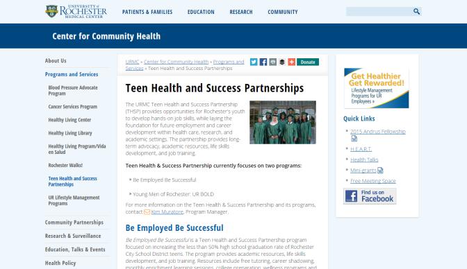 teen health screen grab